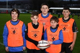 Ballboys in their new bibs