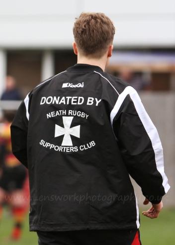 Josh Davies wearing one of the new Training Tops