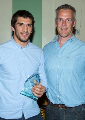 Alex Humfrey with Gareth Llewellyn